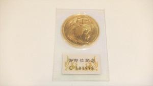 御即位10万円金貨