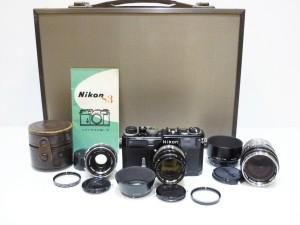 Nikon S3 ブラックペイント&レンズ 買取