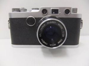 Nicca ニッカ Type-33 + NICCA 50mm F2.8 レンジファインダー